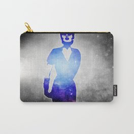 Retro fashion from the universe.Beautiful woman. Carry-All Pouch