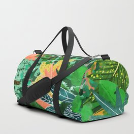 Dense Forest Duffle Bag