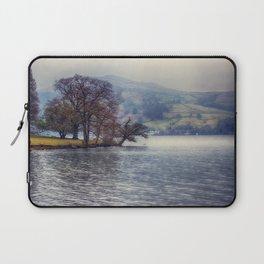 Rain at the Lake Laptop Sleeve