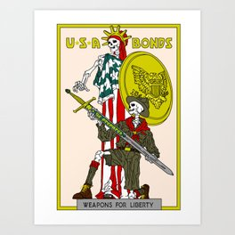 Weapons For Liberty (Norman Rockwell) Art Print