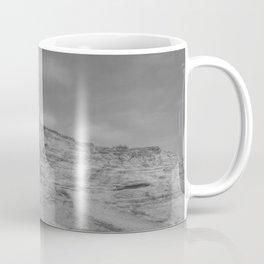 Eroding Graffiti Cliff Coffee Mug