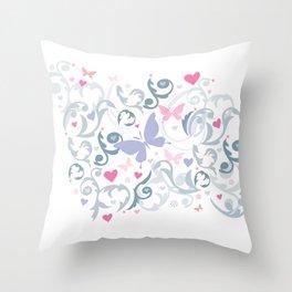 Butterfly Soul Throw Pillow