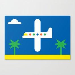 Airplane Canvas Print