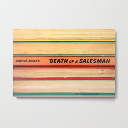 Death of A Salesman Metal Print