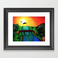 Hideaway Framed Art Print