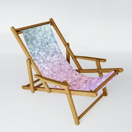 Unicorn Girls Glitter #4 #shiny #pastel #decor #art #society6 Sling Chair