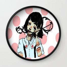 Demon Tongue Wall Clock