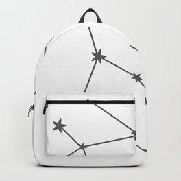 Gemini (Grey & White Sign) Backpack