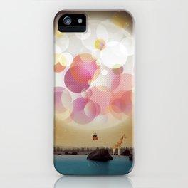 L'Amoureux Melancolique iPhone Case