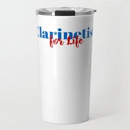 Skilled Clarinetist! Travel Mug