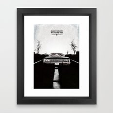 Supernatural  Framed Art Print