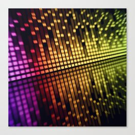 color equalizer Canvas Print
