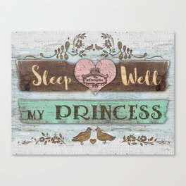 My Princess Canvas Print
