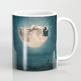 I See You Everywhere or Naked Moon Dream Coffee Mug