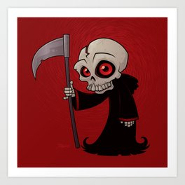 Little Reaper Art Print