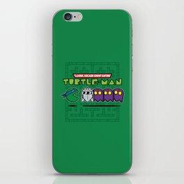 Hero in a Pac-Shell (Leo) iPhone Skin