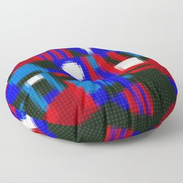 Lego: Abstract Floor Pillow