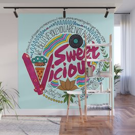 Sweet/Vicious Wall Mural
