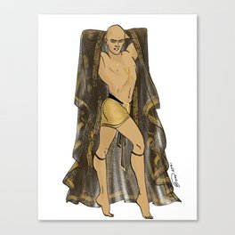 Imhotep Pin-up Canvas Print