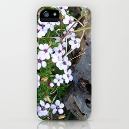 Volcanic flowers iPhone Case