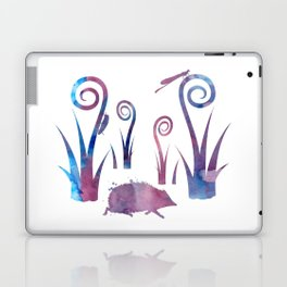 hedgehog and insects Laptop & iPad Skin