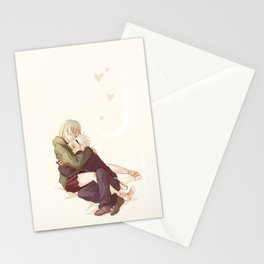 soul and maka Stationery Cards