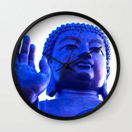 Buddha's Hand Wall Clock