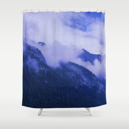 Cloudy Hights Shower Curtain