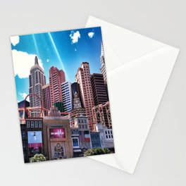 Las Vegas New York New York.!  Stationery Cards