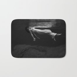 Lady in the Water Bath Mat
