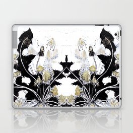 Gold Dandelions Laptop & iPad Skin