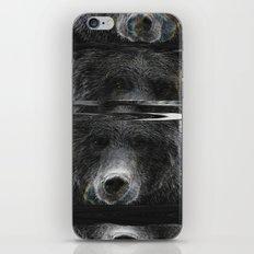 Bear Glitch iPhone & iPod Skin