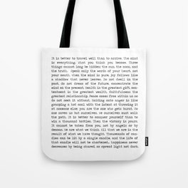 The Wisdom of Buddha Tote Bag