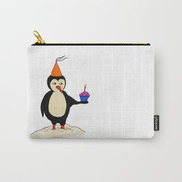 Sad Brithday Penguin Carry-All Pouch