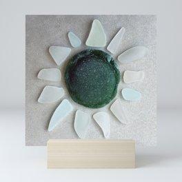 Sea Glass Sun Mini Art Print