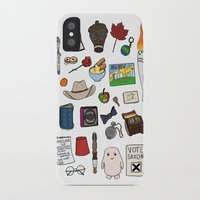 doctor who iPhone & iPod Cases featuring Doctor Who by Shanti Draws