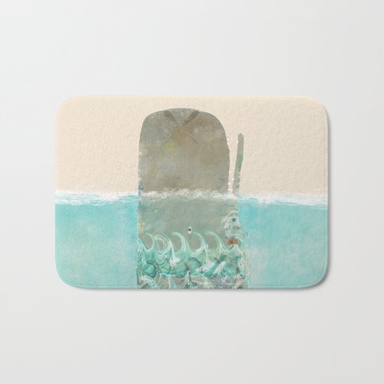 into the wild the whale Bath Mat