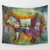 spiritual Wall Tapestries featuring El Salvajismo Spiritual by Jeremy Paul