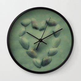 gentle heart Wall Clock