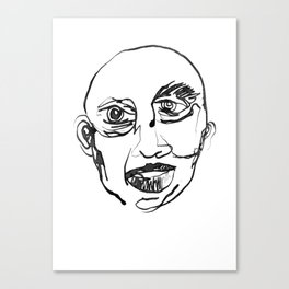 FACES / 007 Canvas Print