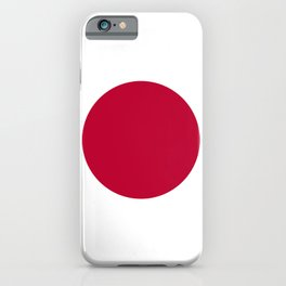National flag of Japan iPhone Case