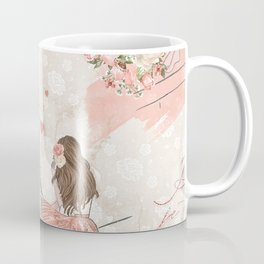 Oh La La Paris Girl Coffee Mug