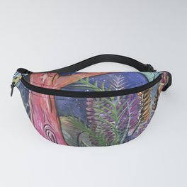 Canopy at night Fanny Pack