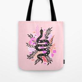 cosmic snake Tote Bag
