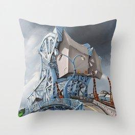 Johnson Street Bridge Throw Pillow