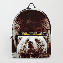 Bad Girl Bear Backpack