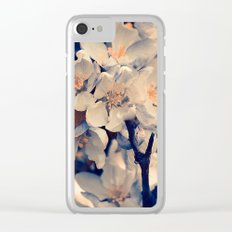 Almond bloom(2) Clear iPhone Case