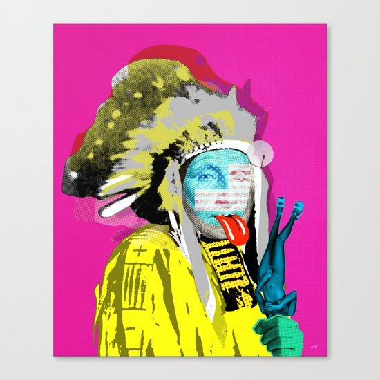 Indian Pop 96 Canvas Print