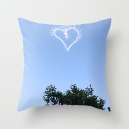 nola skywriting Throw Pillow