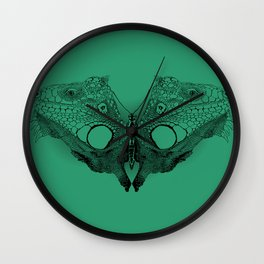 Winged Beauty Wall Clock
